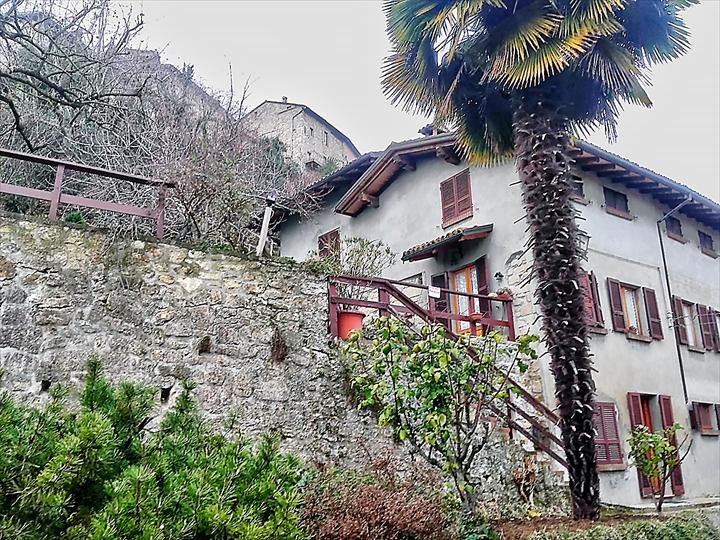 villa rustica in parte antica , Castello di Vigoleno
